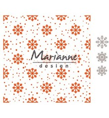 Marianne Design Design Folder Snow And Ice Crystals EXTRA (DF3440)