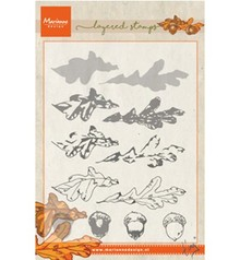 Marianne Design Tiny's Autumn Layering Clear Stamp (TC857)