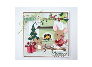Marianne Design Collectable Eline's Mice Family (COL1437)