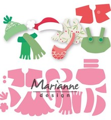 Marianne Design Collectable Eline's Outfits (COL1438)