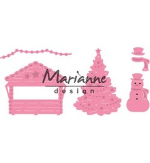 Marianne Design Collectable Village Decoration Set 5 (COL1440)