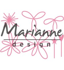 Marianne Design Collectable Giftwrapping Karin's Pins & Bows (COL1441)