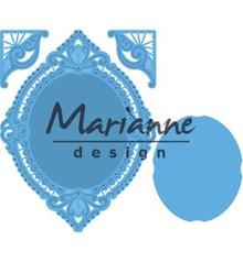 Marianne Design Creatable Petra's Oval & Corners (LR0485)
