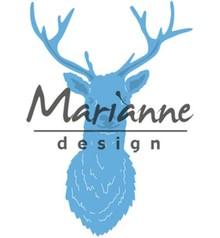 Marianne Design Creatable Tiny's Deer Head (LR0489)