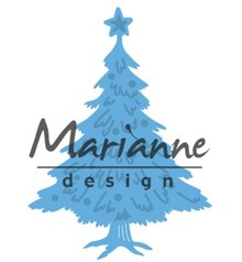Marianne Design Creatable Tiny's Christmas Tree With Decorated (LR0491)