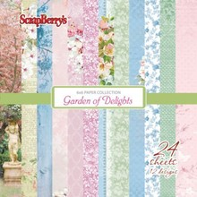 ScrapBerry's Garden Of Delights 6x6 Inch Collection Pack (SCB220610709x)