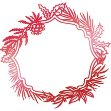 Couture Creations Hot Foil Stamp Wild Wreath Frame (CO725533)