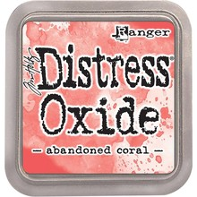 Ranger Distress Oxide Ink Pad Abandoned Coral (TDO55778)