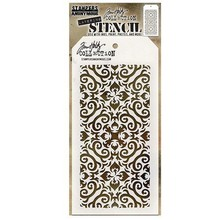 Stampers Anonimous Tim Holtz Flames Layering Stencil (THS091)