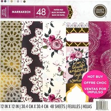 Craft Smith Marrakech 12x12 Inch Paper Pad (MPP0270)