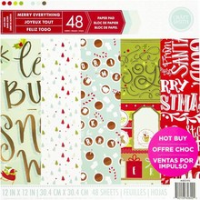 Craft Smith Merry Everything 12x12 Inch Paper Pad (MSE2193)