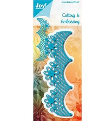 Joy!Crafts Cutting & Embossing Netrand Met Bloemen (6002/0774)