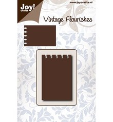 Joy!Crafts Cutting Stencil Vintage Flourishes Notities (6003/0082)