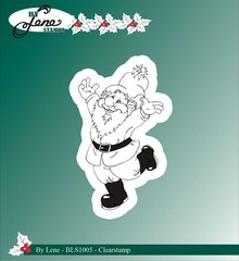 By Lene Clear Stamp Christmas Elves 4 (BLS1005)