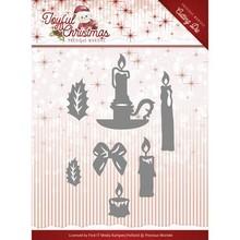 Precious Marieke Joyful Christmas Christmas Candles Snijmal (PM10105)