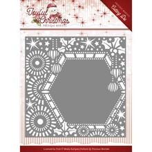 Precious Marieke Joyful Christmas Ribbon Frame Snijmal (PM10108)