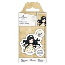 Gorjuss Free As A Bird Rubber Stamp (GOR 907143)