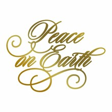 Couture Creations Anna Griffin Hot Foil Stamp Peace On Earth (CO725572)