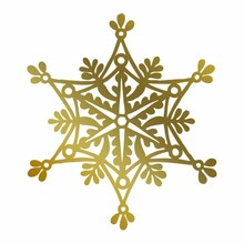 Couture Creations Anna Griffin Hot Foil Stamp Snowflake (CO725574)