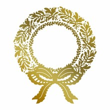 Couture Creations Anna Griffin Hot Foil Stamp Christmas Wreath (CO725576)