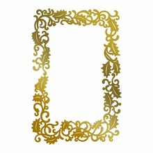 Couture Creations Anna Griffin Hot Foil Stamp Framed Holly (CO725577)