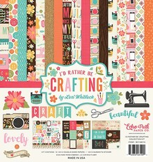 Echo Park I'd Rather Be Crafting 12x12 Inch Collection Kit (IBC138016)