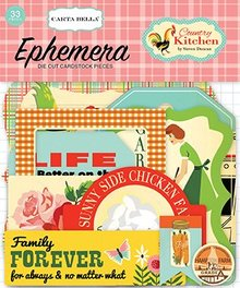Carta Bella Country Kitchen Ephemera (CBCK76024)