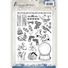 Amy Design Vintage Winter Clear Stamp Set (ADCS10021)