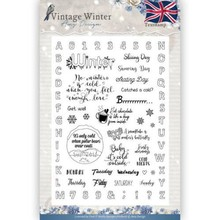 Amy Design Vintage Winter Clear Stamp Set (ADCS10023)