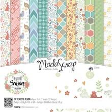 ModaScrap The Beautiful Season 12x12 Inch Paper Pack (BISPP12)