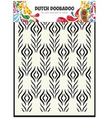 Dutch Doobadoo Dutch Mask Art A5 Floral Feather (470.715.116)