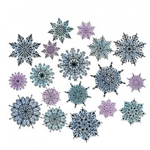 Sizzix Framelits Alterations Swirly Snowflakes (662436)