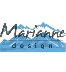 Marianne Design Creatable Horizon Snowy Mountains (LR0493)