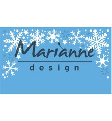 Marianne Design Creatable Snowflakes Border (LR0498)