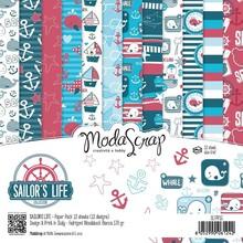 ModaScrap Sailor's Life 6x6 Inch Paper Pack (SLFPPG)