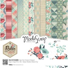 ModaScrap Relax In The Garden 6x6 Inch Paper Pack (RIGPPG)