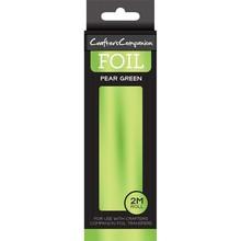 Crafter's Companion Foil Transfers - Foil Pear Green (CC-FOIL-PEGR)