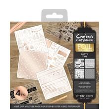 Crafter's Companion Foil Transfers - Party Time (CC-FOILTR-PTIM)
