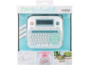 Brother P-Touch Embellish Ribbon & Tape Printer (PTOUCHEM)