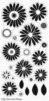 My Favorite Things Plentiful Petals Clear Stamps (CS-212)