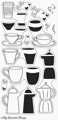 My Favorite Things Coffee Date Clear Stamps (CS-228)