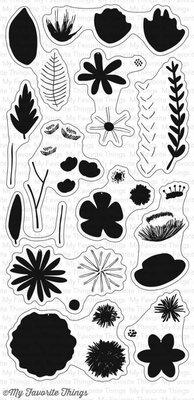 My Favorite Things Rustic Wildflowers Clear Stamps (CS-229)