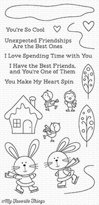 My Favorite Things You Make My Heart Spin Clear Stamps (CS-246)