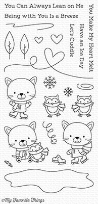 My Favorite Things You Make My Heart Melt Clear Stamps (CS-248)