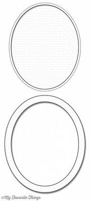 My Favorite Things Die-Namics Oval Shaker Window & Frame (MFT-1132)