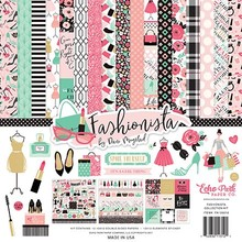 Echo Park Fashionista 12x12 Inch Collection Kit (FA139016)