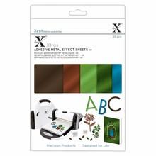 Xcut Xtra A5 Adhesive Metall Effect Sheets Naturals (20pcs) (XCU 174421)