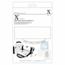 Xcut Xtra A5 Adhesive Vellum Sheets White (15pcs) (XCU 174423)
