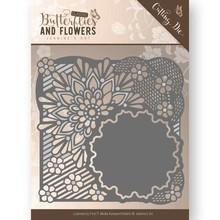 Jeanine's Art Classic Butterflies And Flowers Flower Frame Die (JAD10020)