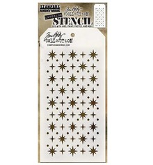 Stampers Anonimous Tim Holtz Starry Layering Stencil (THS093)